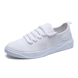 Shoespie Mesh Sneaker Lace-Up Low-Cut Upper Athletic Shoes