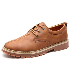 Shoespie Casual Low-Cut Upper Lace-Up Men's Loafers