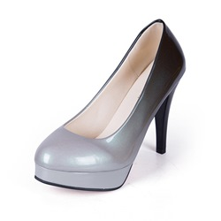 Shoespie Slip-On Gradient Banquet Stiletto Heel