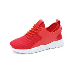 Shoespie Mesh Low-Cut Upper Platform Lace-Up Sneaker