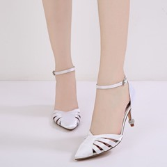 Shoespie Wedding Bridal Shoes Hollow Rhinestone