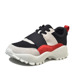 Shoespie Casual Platform Color Block Sneaker