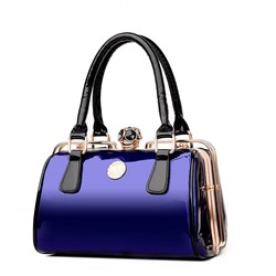 Shoespie Fashion Patent Leather Pillow Satchel