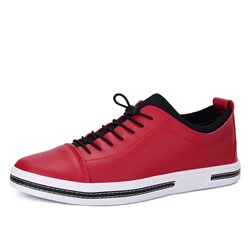ShoespieCasual Round Toe Color Block Sneaker