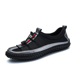 ShoespieCasual Patchwork Color Block Men's Loafer