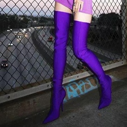 Shoespie Sexy High Heels Thigh High Boots