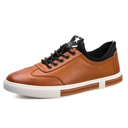Shoespie Casual Round Toe Lace-Up Sneaker