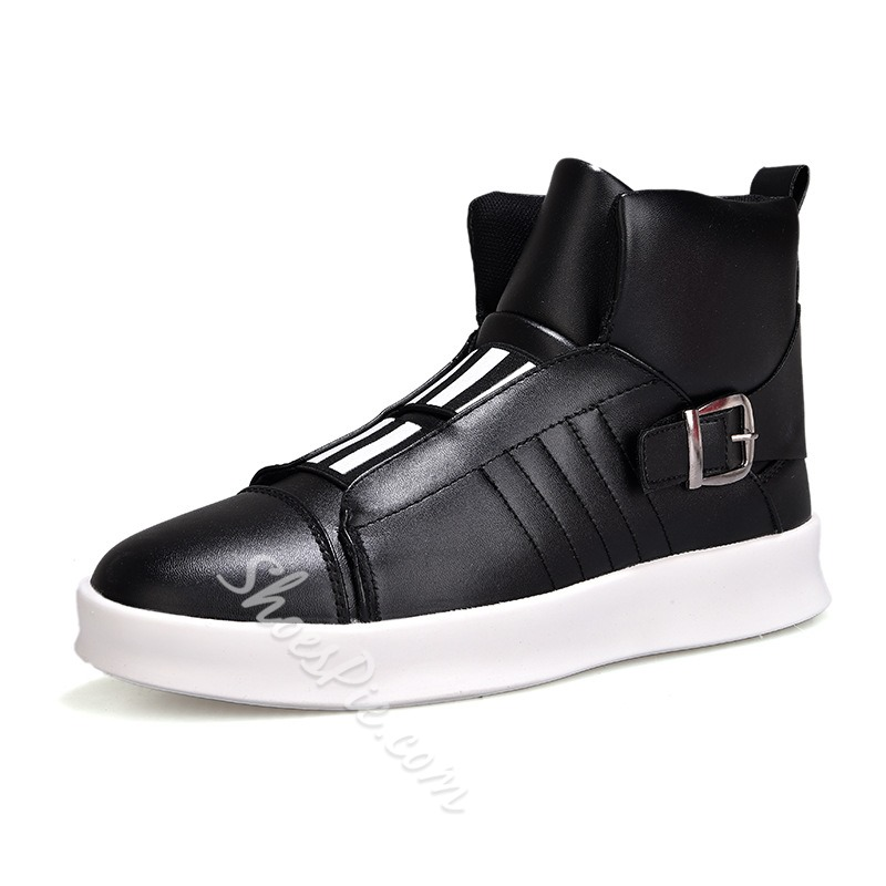 Shoespie Casual Slip-On Thread Buckle Men's Sneaker