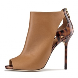 Shoespie Sexy Hollow Peep Toe Stiletto Heel Boots