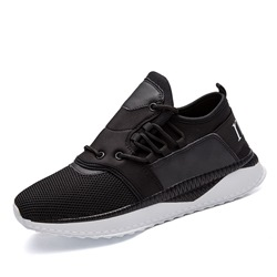 Shoespie Casual Mesh Lace-Up Sneaker