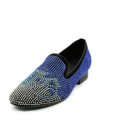Shoespie Casual Rhinestone Slip-On Men's Loafer