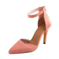 Shoespie Back Zipper Pointed Toe Stiletto Heel