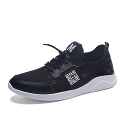 Shoespie Casual Round Toe Elastic Sneaker