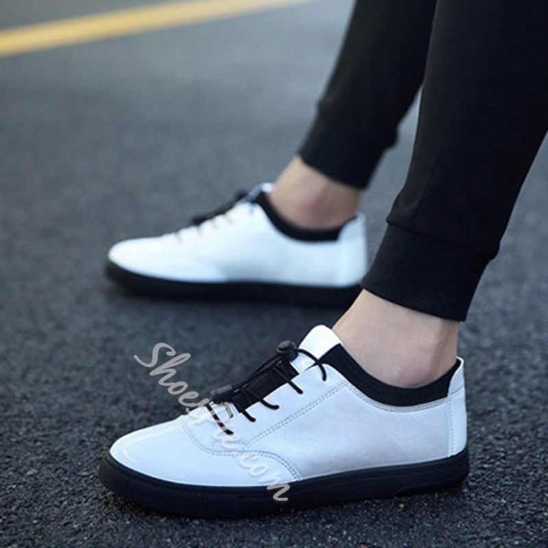 ShoespieCasual Round Toe Elastic Sneaker