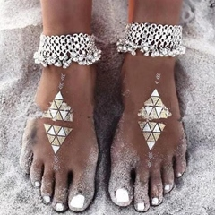 Shoespie Hollow Out Retro Women's Anklet