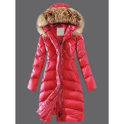 Straight Long Women's Cotton Padded Jacket