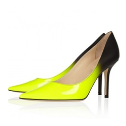 Shoespie Slip-On Gradient Pointed Toe Stiletto Heel