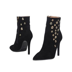 Shoespie Pointed Toe Side Zipper Stiletto Heel Women's Boots