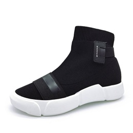 Shoespie Casual Platform Slip-On Sneaker
