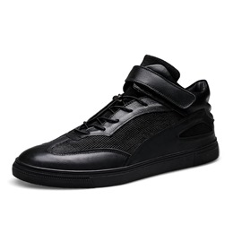 Shoespie Casual Patchwork Round Toe Sneaker