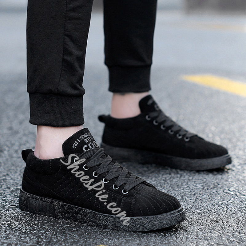 ShoespieCasual Platform Mesh Lace-Up Sneaker