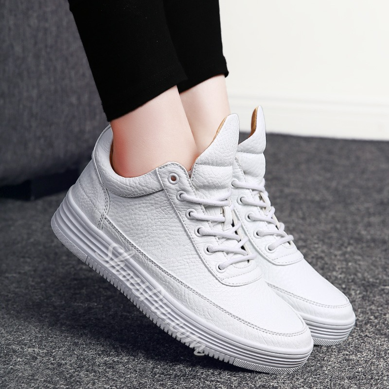ShoespieCasual Round Toe Lace-Up Sneaker