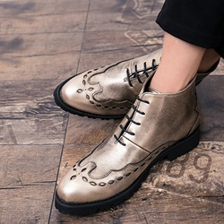 Shoespie Fashion Lace-Up Men's Boots