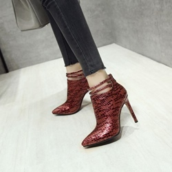 Shoespie Stiletto High Heels Sexy Ankle Boots