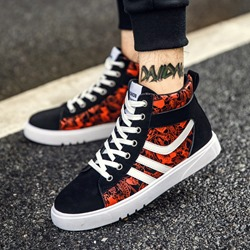 Shoespie Fashion Lace-Up Sneakers For Men