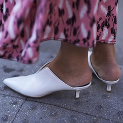 Shoespie White Pumps Stiletto Heels For Women