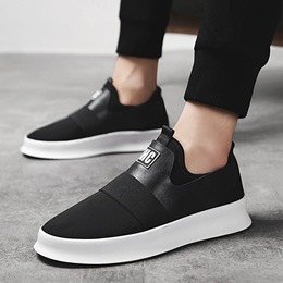 Shoespie Casual Patchwork Slip-On Sneakers