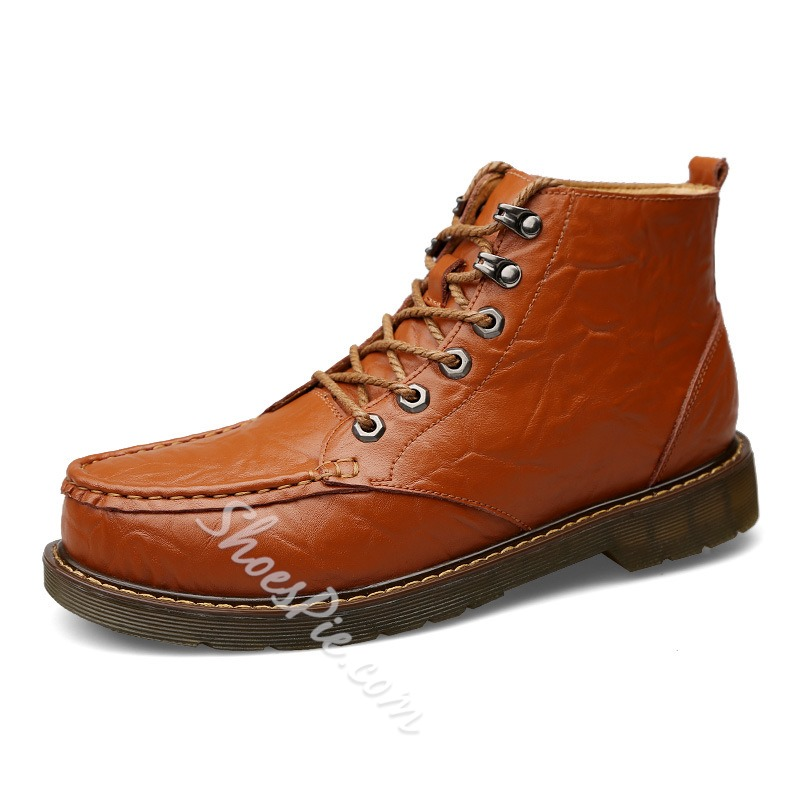 Shoespie Fall Shoes Martin Boots For Men