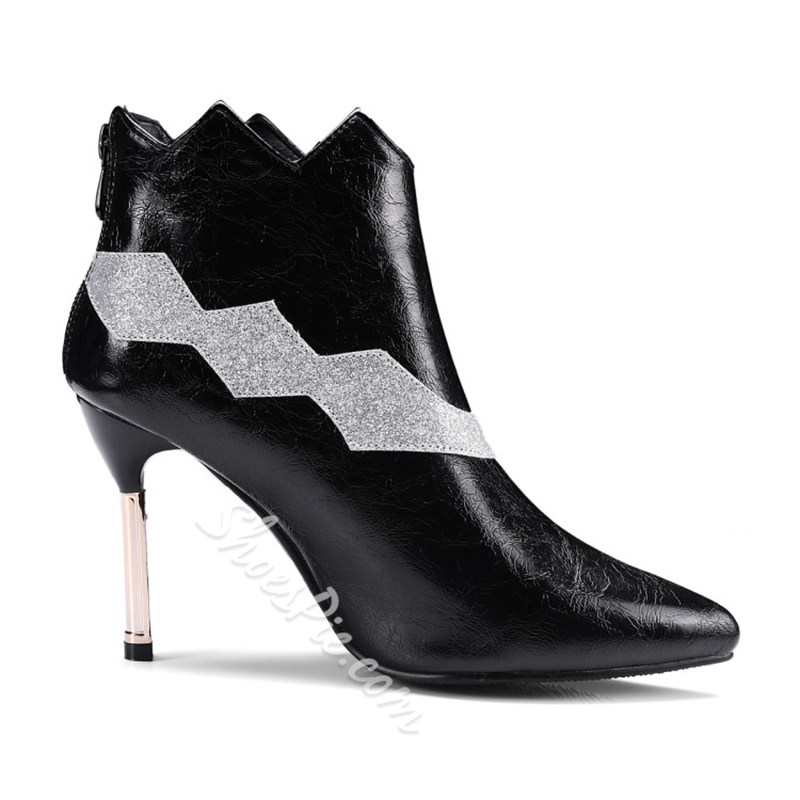 Shoespie Fall Stiletto Heel Sexy Ankle Boots
