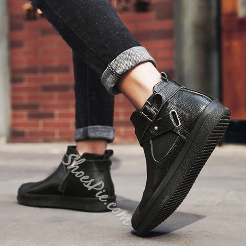 Shoespie Casual Round Toe Men's Sneakers