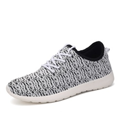 Shoespie Light Woven Lace Up Men's Casual Shoes