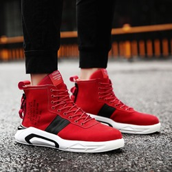 Casual Round Toe Lace-Up Sneakers