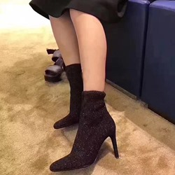 Shoespie Sexy High Stiletto Heel Fashion Boots