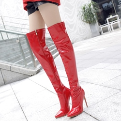 Shoespie Sexy Stiletto Heel Knee High Boots