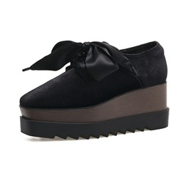 Shoespie Square Toe Platform Casual Women's Shoes