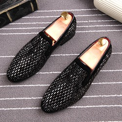 Shoespie Slip-On Rivet Casual Men's Loafers