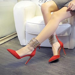 Shoespie Sexy High Heel Pointed Toe Stiletto Heels