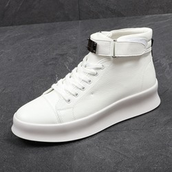 Shoespie Lace-Up Boots Casual Men's Sneakers