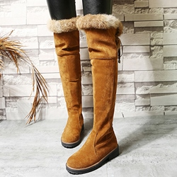 Shoespie Winter Platform Knee High Boots