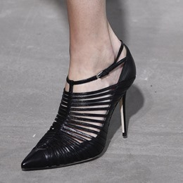 Shoespie Hollow Pointed Toe Buckle Stiletto Heels