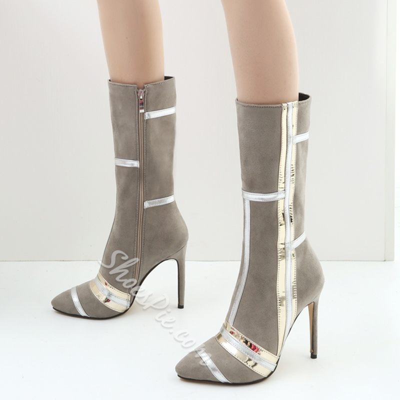 Shoespie Fashion Stiletto High Heel Ankle Boots