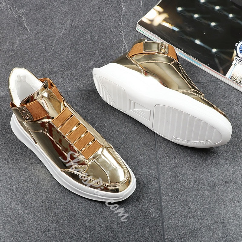 ShoespieCasual Round Toe Men's Sneakers