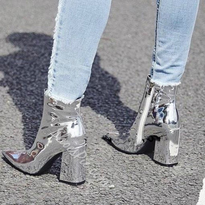 Shoespie Fashion 2017 Chunky Heel Ankle Boots
