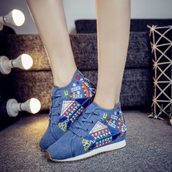 Shoespie Casual Embroidery Women's Sneakers