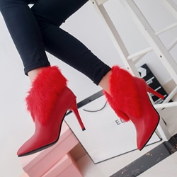 Shoespie Sexy Stiletto Heel Ankle Boots