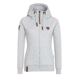 Regular Zipper Long Sleeve Women's Hoodie